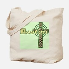 boston-celtic-cross-pillow Tote Bag