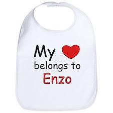 My heart belongs to enzo Bib