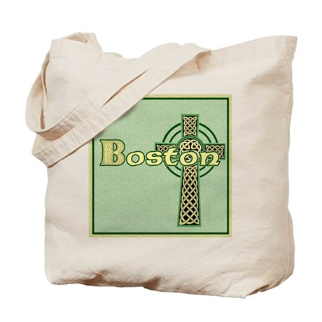 boston-celtic-tile Tote Bag