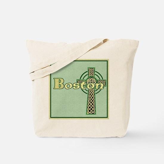 boston-celtic-tile Tote Bag
