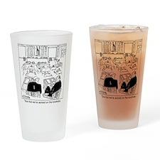 7323_tax_cartoon Drinking Glass