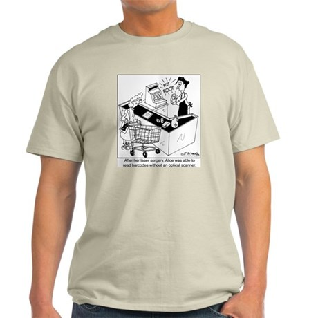 7372_bar_code_cartoon Light T-Shirt