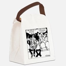 7291_religion_cartoon Canvas Lunch Bag