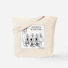 6764_computer_cartoon Tote Bag