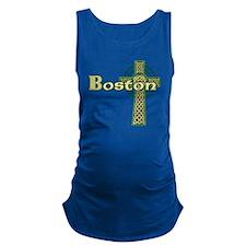boston-celtic-cross Maternity Tank Top