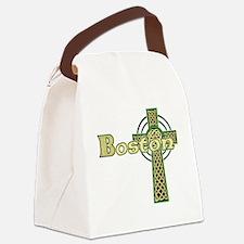 boston-celtic-cross Canvas Lunch Bag