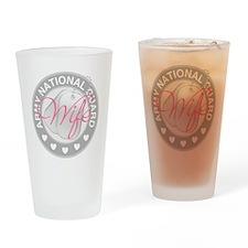ARNGWifeLogoGrey Drinking Glass