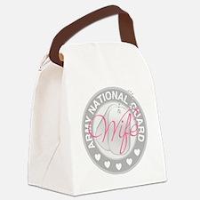 ARNGWifeLogoGrey Canvas Lunch Bag