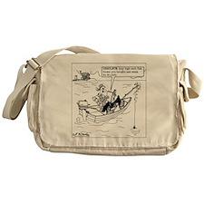5263_fishing_cartoon Messenger Bag