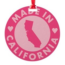 Pink-Made-In-Califotnia2 Ornament
