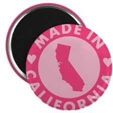 Pink-Made-In-Califotnia2 Magnet