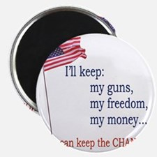 Keep-The-Change-T-Shirt Magnet