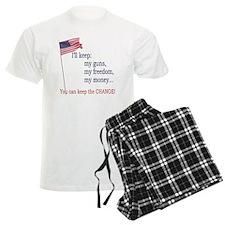 Keep-The-Change-T-Shirt Pajamas