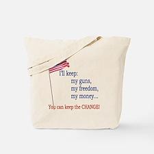 Keep-The-Change-T-Shirt Tote Bag