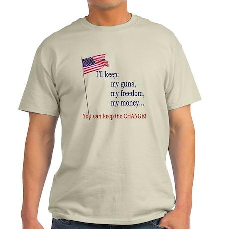 Keep-The-Change-T-Shirt Light T-Shirt