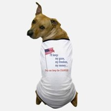 Keep-The-Change-T-Shirt Dog T-Shirt