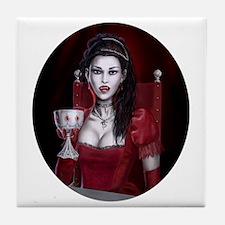 countess oval Tile Coaster