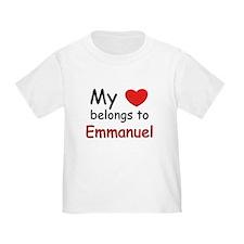 My heart belongs to emmanuel T