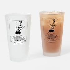 2854_computer_cartoon Drinking Glass