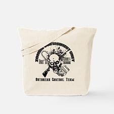Zombie Containment_Black Tote Bag