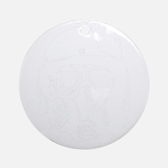 white Round Ornament