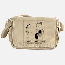 4453_relationship_cartoon Messenger Bag