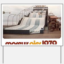 moreys-pier-wipeout-1979 Yard Sign