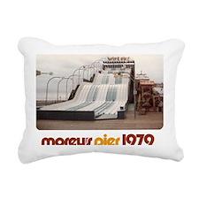 moreys-pier-wipeout-1979 Rectangular Canvas Pillow