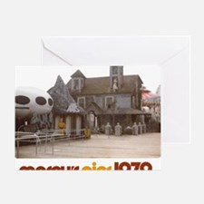 2-moreys-pier-hauntedhouse-starwars- Greeting Card