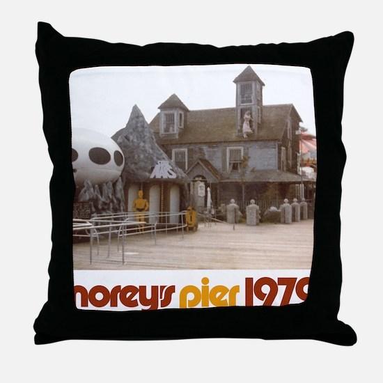 2-moreys-pier-hauntedhouse-starwars-o Throw Pillow