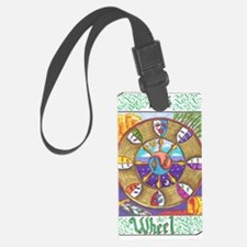 wheel of fortune Luggage Tag