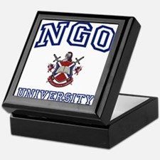 NGO University Keepsake Box