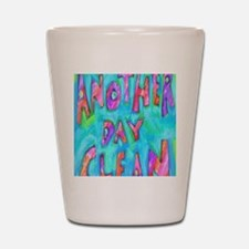 day clean Shot Glass