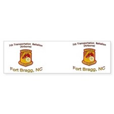 2-7th Transportation Bn Mug2 Bumper Sticker