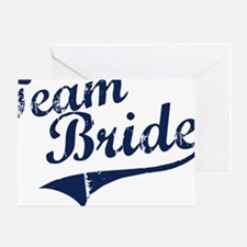 teambride_blue Greeting Card