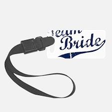 teambride_blue Luggage Tag