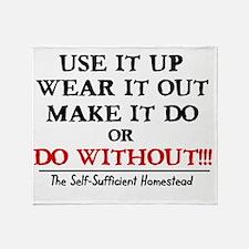ssh-tshirt2 Throw Blanket