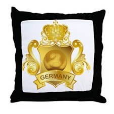 Gold3Germany1 Throw Pillow
