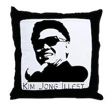 Kim-Jong-Illestbig Throw Pillow