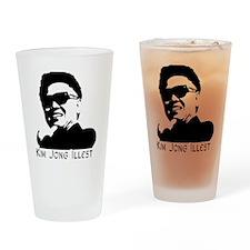 Kim-Jong-Illestbig Drinking Glass