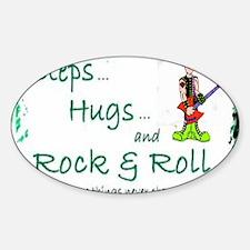 steps hugs rocker Decal