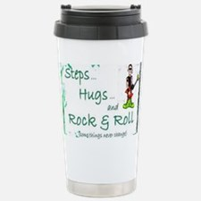 steps hugs rocker Travel Mug