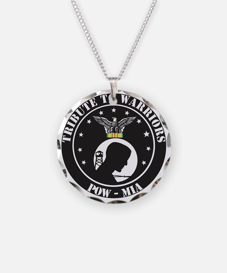 TRIBUTE TO WARRIORS RUN POW  Necklace