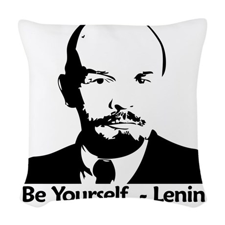 beyurselflenninbiger Woven Throw Pillow