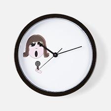 Chibi Singer Wall Clock