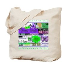 thanks11x9purpcalendar Tote Bag