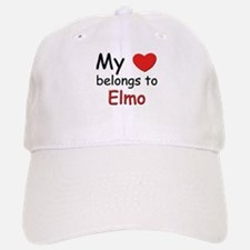 My heart belongs to elmo Baseball Baseball Cap