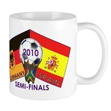 Germany vs. Spain Soccer 2010 T-Shirt Mug