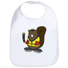 Hockey Beaver Bib