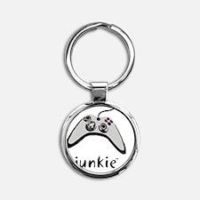 Gaming Round Keychain